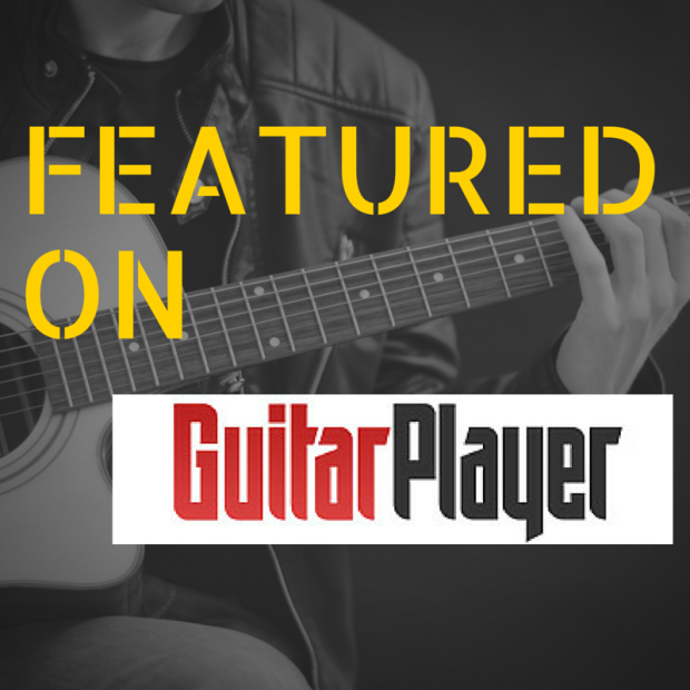 【 Featured on Guitar Player Magazine !】